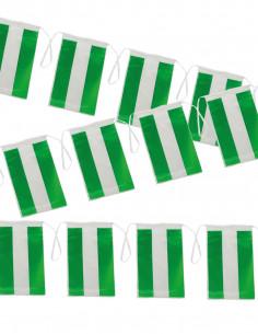 Bandera plástico de Andalucía