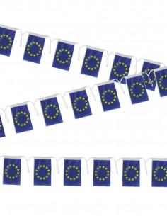 Bandera plástico de Europa