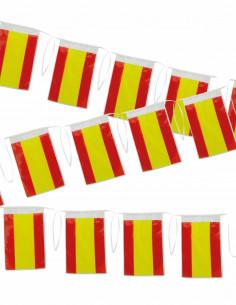 Bandera de plástico España