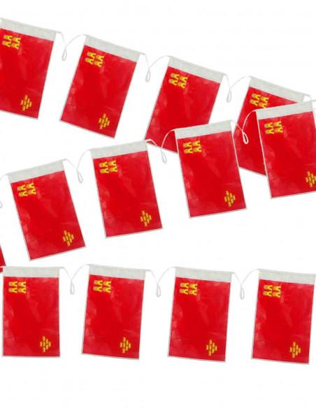 Bandera plástico de Murcia
