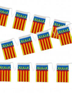 Bandera plástico Comunidad Valencia