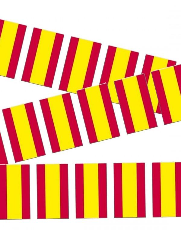 Banderines de España de papel