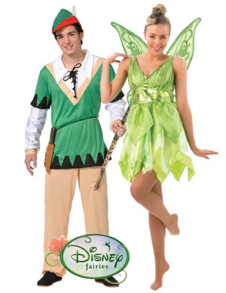 Disfraz en Pareja de Peter Pan