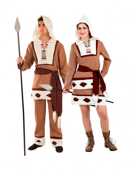 Disfraz de esquimales en pareja