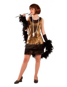 Disfraz de cabaret mujer