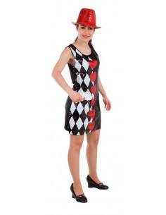 Disfraz Poker con lentejuelas