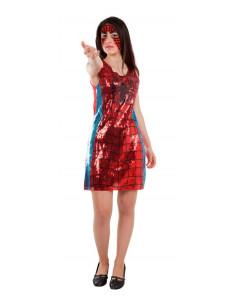 Disfraz Spider Woman lentejuelas