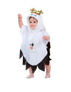 Disfraz de fantasma rey para bebé