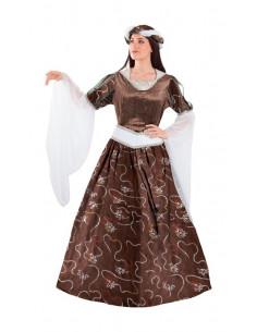 Disfraz doncella medieval  Tallas-M