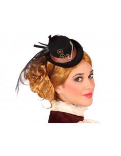 Mini sombrero steampunk