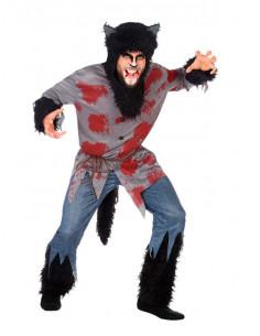 Disfraz hombre lobo adulto  Modelo-Único Tallas-M-L