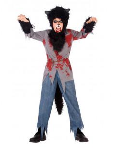 Disfraz hombre lobo infantil  Modelo-Único Tallas-10-12 años