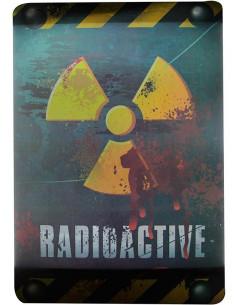 Cartel Zona Radiactiva