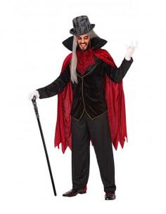 Disfraz de vampiro elegante  Modelo-Único Tallas-M-L