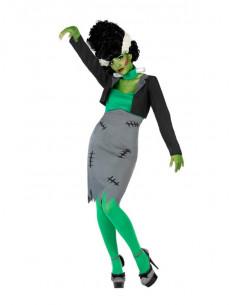 Disfraz de novia de Frankenstein para mujer