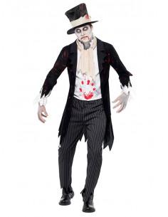 Disfraz de novio zombie para hombre  Tallas-L