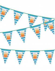 Banderines Oktoberfest triangulares