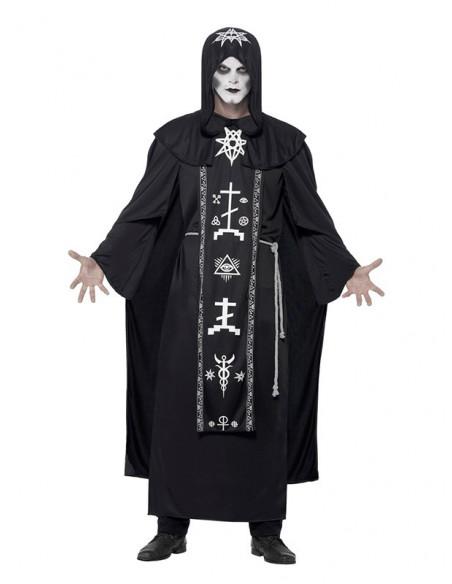 Disfraz de sacerdote de las artes oscuras unisex