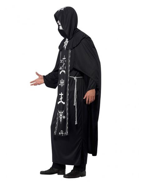 Disfraz de sacerdote de las artes oscuras unisex perfil