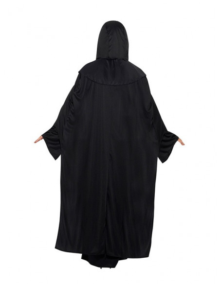 Disfraz de sacerdote de las artes oscuras unisex trasera mujer
