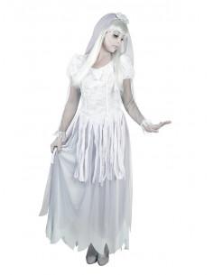 Disfraz de novia cadáver para mujer  Tallas-40/42