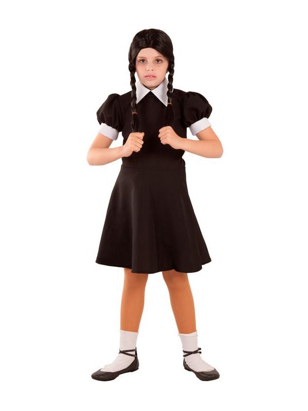 Disfraz de Miércoles para niña
