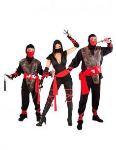 Disfraz de Ninjas para Grupos