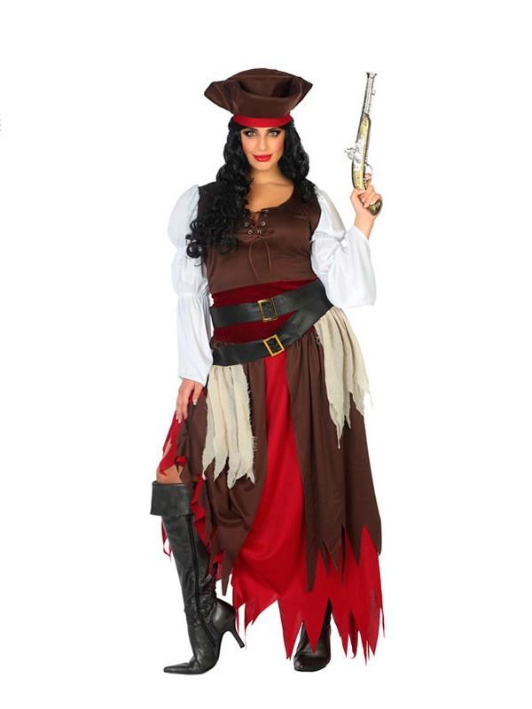43c693433756 Disfraz de pirata para mujer talla grande - Comprar en Disfraces Bacanal