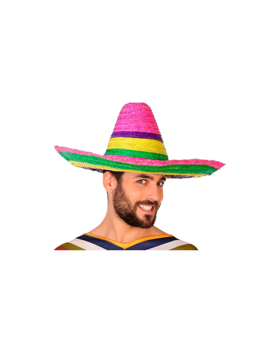 Sombrero mejicano multicolor - Comprar en Disfraces Bacanal eafc24dd1d1