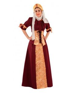 Disfraz Blanca de Navarra para mujer