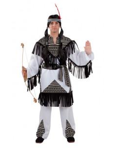 Disfraz indio cherokee para hombre  Modelo-Único Tallas-XL