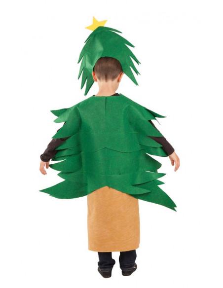Disfraz Árbol de Navidad infantil trasera