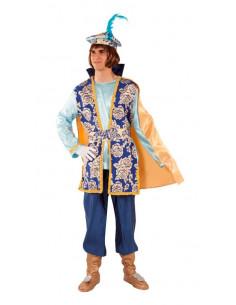 Disfraz de Paje Gaspar adulto