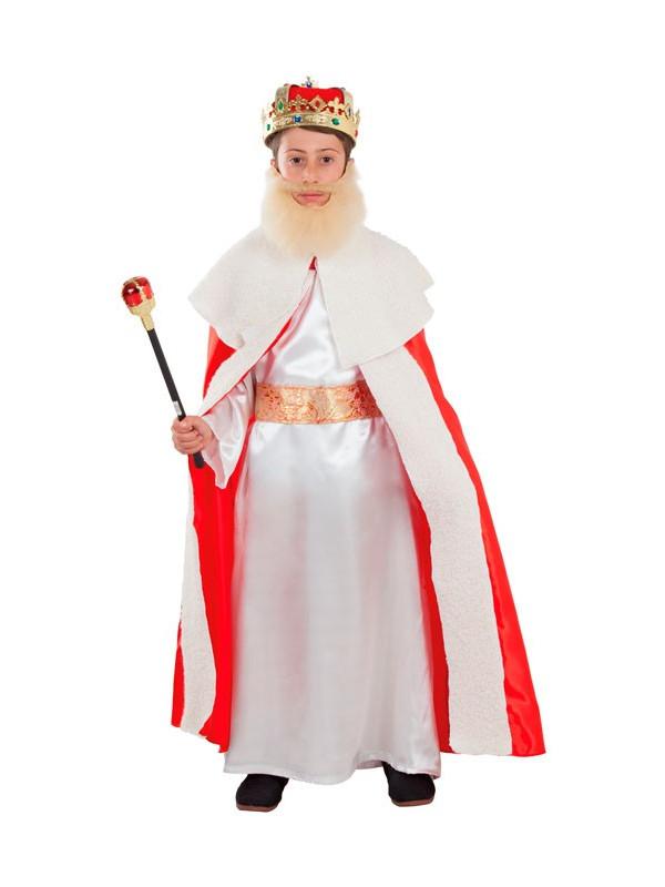 91018247f Disfraz de Rey Mago Gaspar infantil