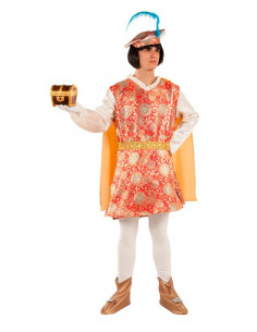 Disfraz de Paje Melchor adulto