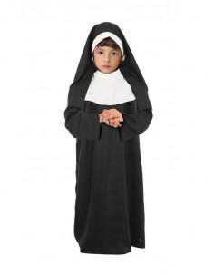 Disfraz de monja para niña