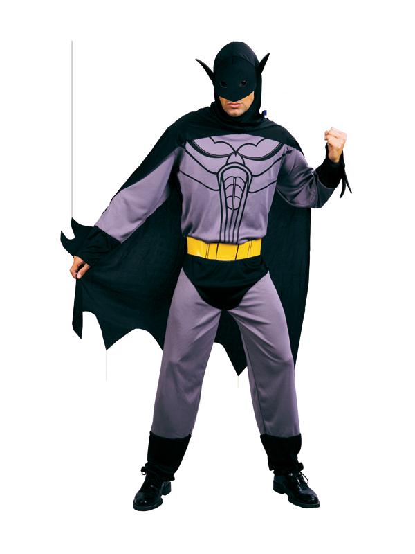 Disfraz Batman gris cinturón amarillo