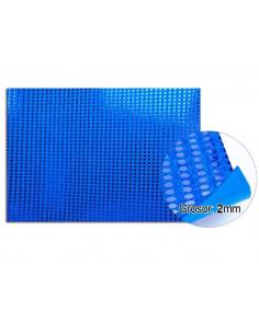 Goma eva planchas de lentejuelas azul
