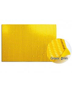 Goma eva planchas de lentejuelas amarillo