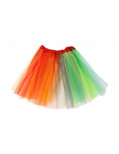 Tutú multicolor