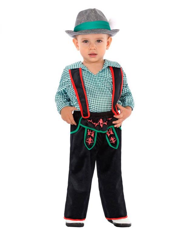 Disfraz de tirolés para bebé