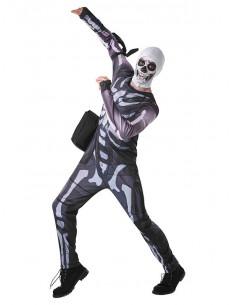 Disfraz de Fornite Skull Trooper niño y adolescente