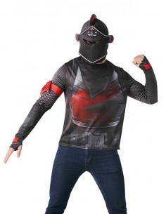 Camiseta Fornite de Black Knight niño y adolescente
