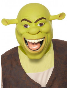 Máscara Shrek de látex