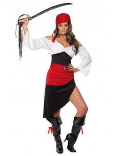 Disfraz pirata sexy para mujer