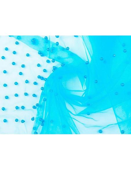 Tul fantasía Zana azul
