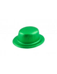 Bombín escarchado verde