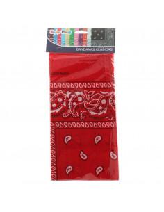 Pañuelo de vaquero rojo