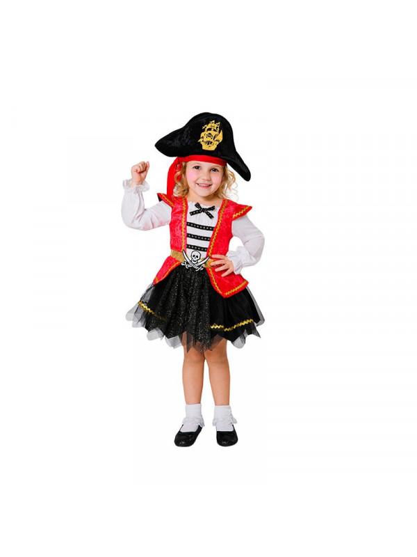 9fa43b51e19 Disfraz pirata caribeña para niña - Comprar disfraces pirata infantil