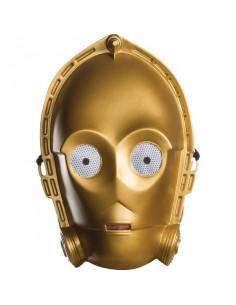 Máscara C3PO Classic para adulto